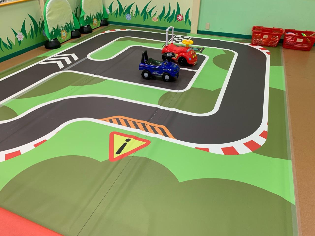 子供車レース