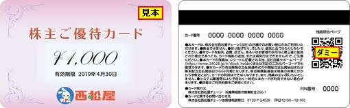 西松屋カード